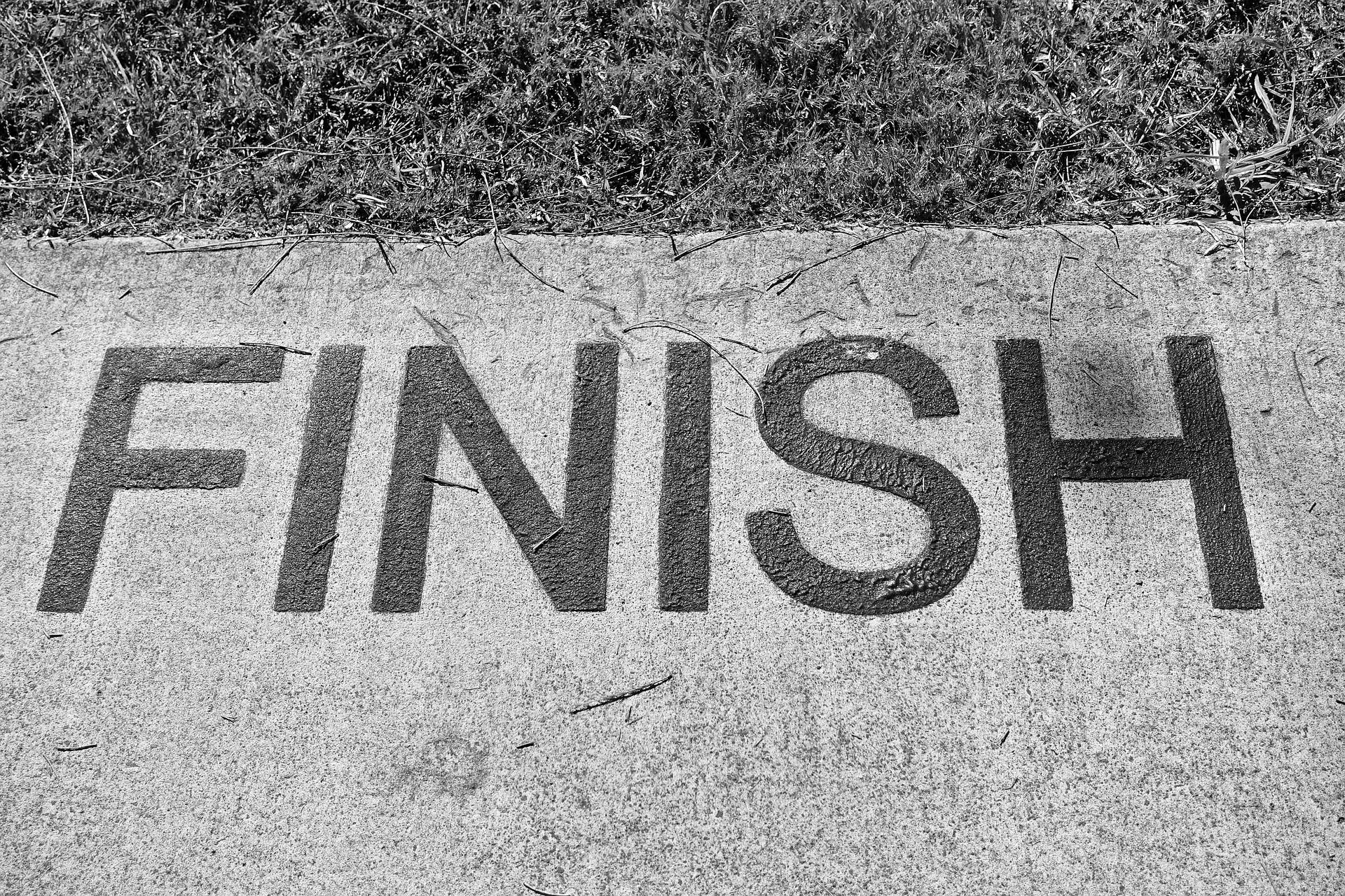To do Finish